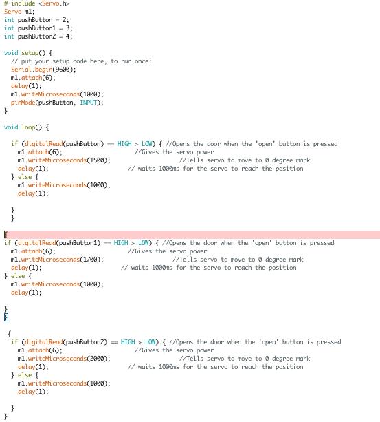 Arduino ESC control using buttons - errors - Circuito io Talk