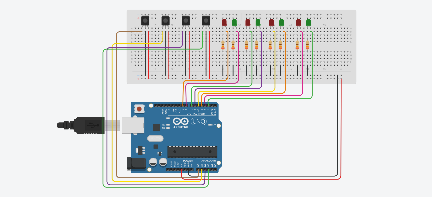 Circuito Io : Dancing robot made with circuito example projects circuito
